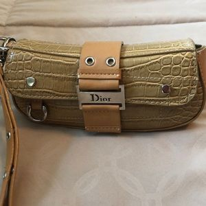 Dior wristlet/clutch